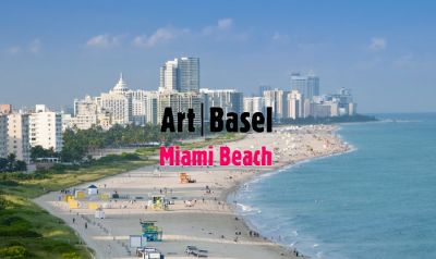 CAROLINA NITSCH@ART BASEL MIAMI BEACH 2019(EDITION) (art fair) @ARTLINKART, exhibition poster