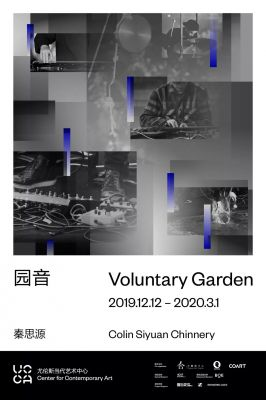 VOLUNTARY GARDEN - QIN SIYUAN (solo) @ARTLINKART, exhibition poster