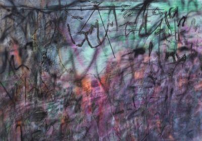 JULIE MEHRETU (solo) @ARTLINKART, exhibition poster