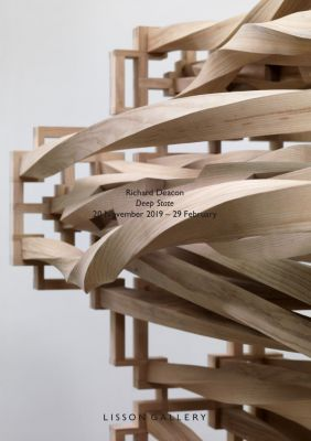 RICHARD DEACON - DEEP STATE (solo) @ARTLINKART, exhibition poster