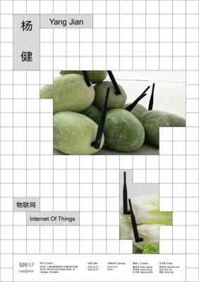 YANG JIAN - INTERNET OF THINGS (solo) @ARTLINKART, exhibition poster
