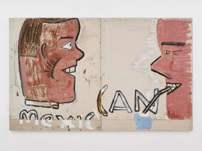 ROSE WYLIE - PAINTING A NOUN... (solo) @ARTLINKART, exhibition poster