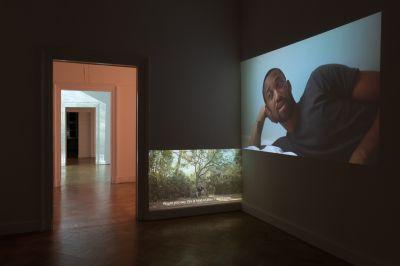 HANNAH BLACK - DEDE, EBERHARD, PHANTOM (solo) @ARTLINKART, exhibition poster
