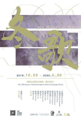 THE MELODY OF WINTER (group) @ARTLINKART, exhibition poster