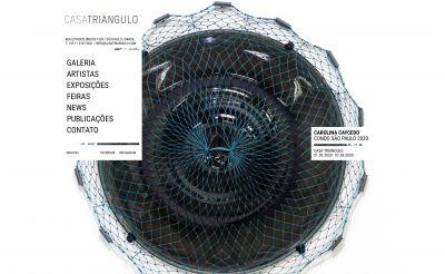 CAROLINA CAYCEDO@CONDO SAO PAULO 2020 (solo) @ARTLINKART, exhibition poster