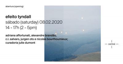 EFEITO TYNDALL@CONDO SAO PAULO 2020 (solo) @ARTLINKART, exhibition poster
