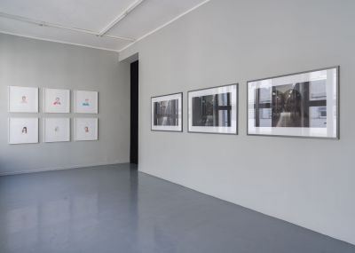 CLÉMENT COGITORE - DIGITAL DESERTS, EVIL EYES AND KIDS. PHOTOS. (solo) @ARTLINKART, exhibition poster