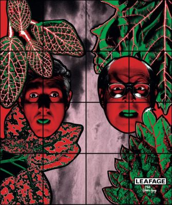 GILBERT & GEORGE - GREAT EXHIBITION, 1971-2016 (solo) @ARTLINKART, exhibition poster