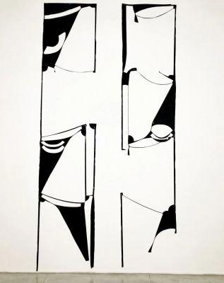 MARION BARUCH:RETROSPECTIVE - INNENAUSSENINNEN (solo) @ARTLINKART, exhibition poster