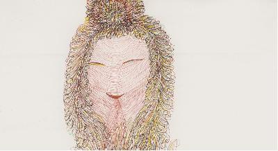 GUO FENGYI (solo) @ARTLINKART, exhibition poster
