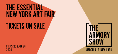 BROOKE ALEXANDER@THE ARMORY SHOW 2020 (GALLERIES) (art fair) @ARTLINKART, exhibition poster