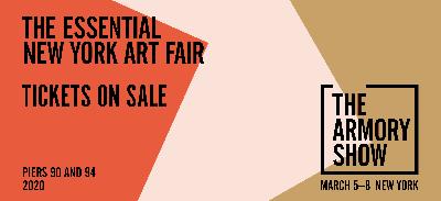 KASMIN@THE ARMORY SHOW 2020 (GALLERIES) (art fair) @ARTLINKART, exhibition poster