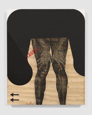 SERGE ALAIN NITEGEKA - BLACK MIGRANT (solo) @ARTLINKART, exhibition poster
