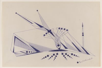 EUGENE VON BRUENCHENHEIN - DRAWINGS 1964-67 (个展) @ARTLINKART展览海报