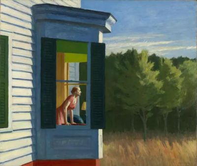 EDWARD HOPPER (solo) @ARTLINKART, exhibition poster