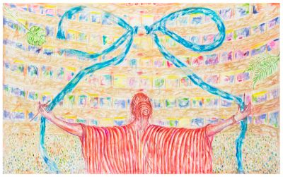 JUTTA KOETHER - 4 THE TEAM (solo) @ARTLINKART, exhibition poster