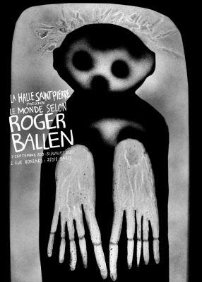 ROGER BALLEN - THE WORLD ACCORDING TO ROGER BALLEN (solo) @ARTLINKART, exhibition poster