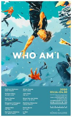 WHO AM I (group) @ARTLINKART, exhibition poster
