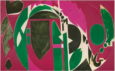 LEE KRASNER. - LIVING COLOUR (个展) @ARTLINKART展览海报