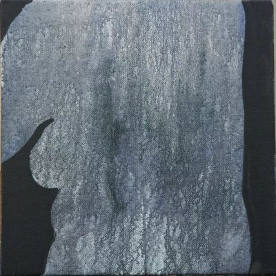 ZHENG ZHOU - BELLY (solo) @ARTLINKART, exhibition poster