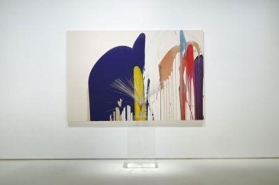 JOHN ARMLEDER (solo) @ARTLINKART, exhibition poster