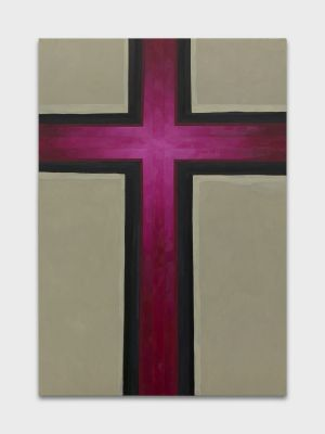 MONO CROSS - EMIL MICHAEL KLEIN (solo) @ARTLINKART, exhibition poster