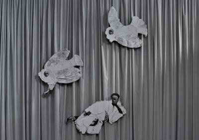 12 SELF PORTRAITS - FRIDA ORUPABO (solo) @ARTLINKART, exhibition poster