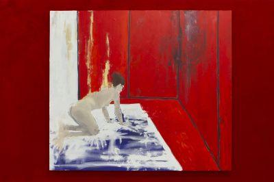STILL AMERICAN - JEANETTE MUNDT (solo) @ARTLINKART, exhibition poster