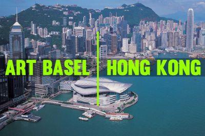 DAVID ZWIRNER@ART BASEL HONG KONG 2020(GALLERIES) (art fair) @ARTLINKART, exhibition poster