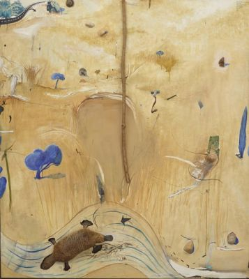 BRETT WHITELEY - AUSTRALIA (solo) @ARTLINKART, exhibition poster