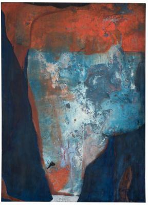 ABSTRACT ROMARE BEARDEN (solo) @ARTLINKART, exhibition poster