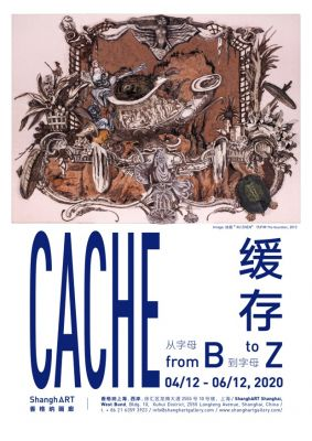 CACHE - FROM B TO Z (solo) @ARTLINKART, exhibition poster