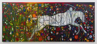 SRIJON CHOWDHURY (solo) @ARTLINKART, exhibition poster