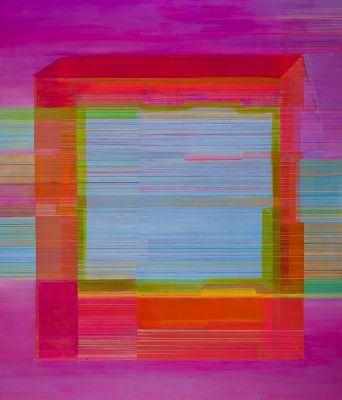 MATERIAL WORLD - ANTONIETTA GRASSI (solo) @ARTLINKART, exhibition poster