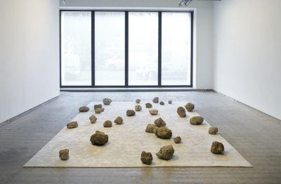 MASSIMO BARTOLINI - CREDITS (solo) @ARTLINKART, exhibition poster