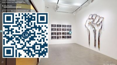 ROBIN RHODE & NARI WARD - POWER WALL (group) @ARTLINKART, exhibition poster