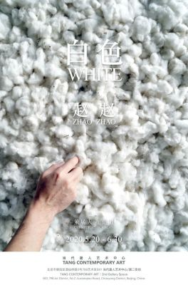 WHITE - ZHAO ZHAO (solo) @ARTLINKART, exhibition poster