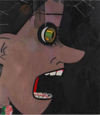 ELLEN BERKENBLIT - SISTERGARDEN (solo) @ARTLINKART, exhibition poster