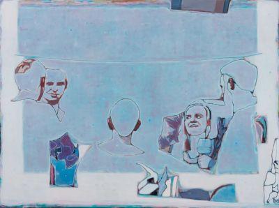 TANG YONGXIANG - SHAPE (solo) @ARTLINKART, exhibition poster