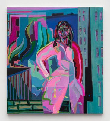 MIRA DANCY, FRANCE-LISE MCGURN & CLARE WOODS (group) @ARTLINKART, exhibition poster