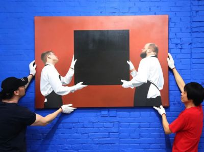 独唱团——郭警个展 (个展) @ARTLINKART展览海报