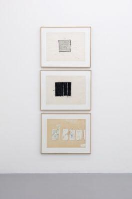 MARIO SCHIFANO - QUALCOS'ALTRO (solo) @ARTLINKART, exhibition poster