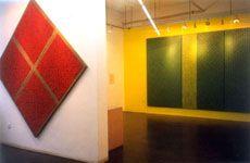 两位上海抽象艺术家——丁乙-申凡 (群展) @ARTLINKART展览海报