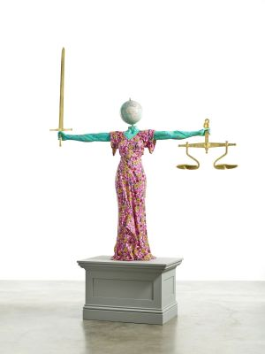 YINKA SHONIBARE CBE - JUSTICE FOR ALL (个展) @ARTLINKART展览海报