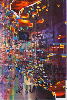 SARAH SZE (solo) @ARTLINKART, exhibition poster