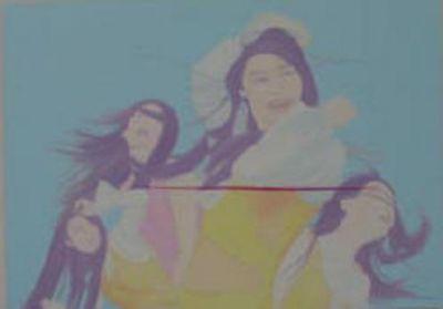 2003 YANG MIAN'S BEAUTY STANDARD (solo) @ARTLINKART, exhibition poster