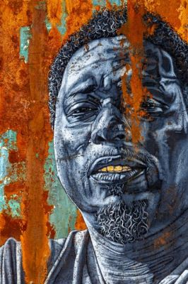 ALFRED CONTEH - OUR REALITY (solo) @ARTLINKART, exhibition poster