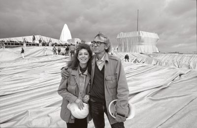 CHRISTO AND JEANNE-CLAUDE - PROJECTS 1963-2020. INGRID & THOMAS JOCHHEIM COLLECTION (solo) @ARTLINKART, exhibition poster