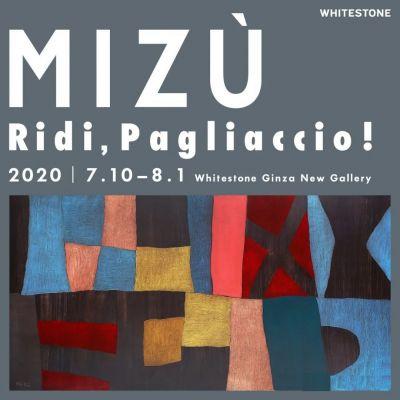 MIZù - RIDI, PAGLIACCIO! (solo) @ARTLINKART, exhibition poster
