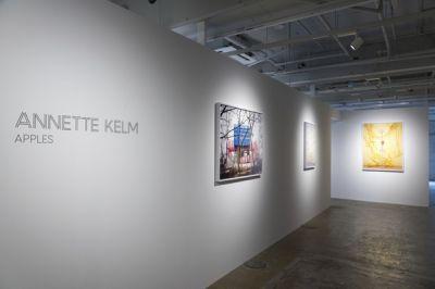 ANNETTE KELM - APPLES (solo) @ARTLINKART, exhibition poster